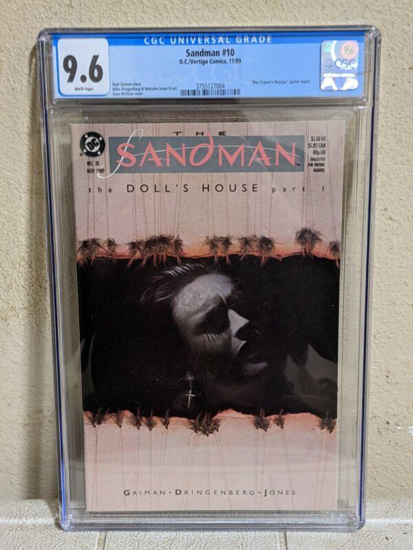 Sandman #10 CGC 9.6 NM+ Gaiman 1989 1st Corinthian