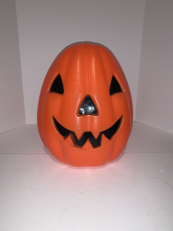 Pumpkin BLOW MOLD Vintage Jack-O-Lantern Light Up Halloween