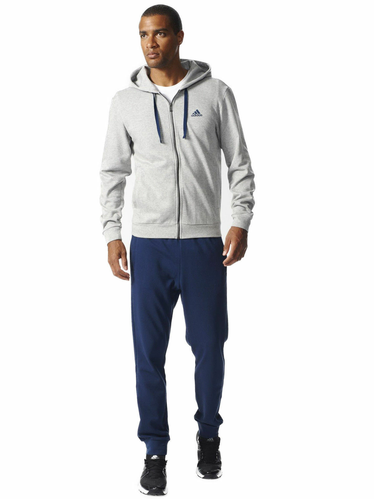 Adidas Herren Beleben Trainingsanzug Vollständiges Set - BK2669 -