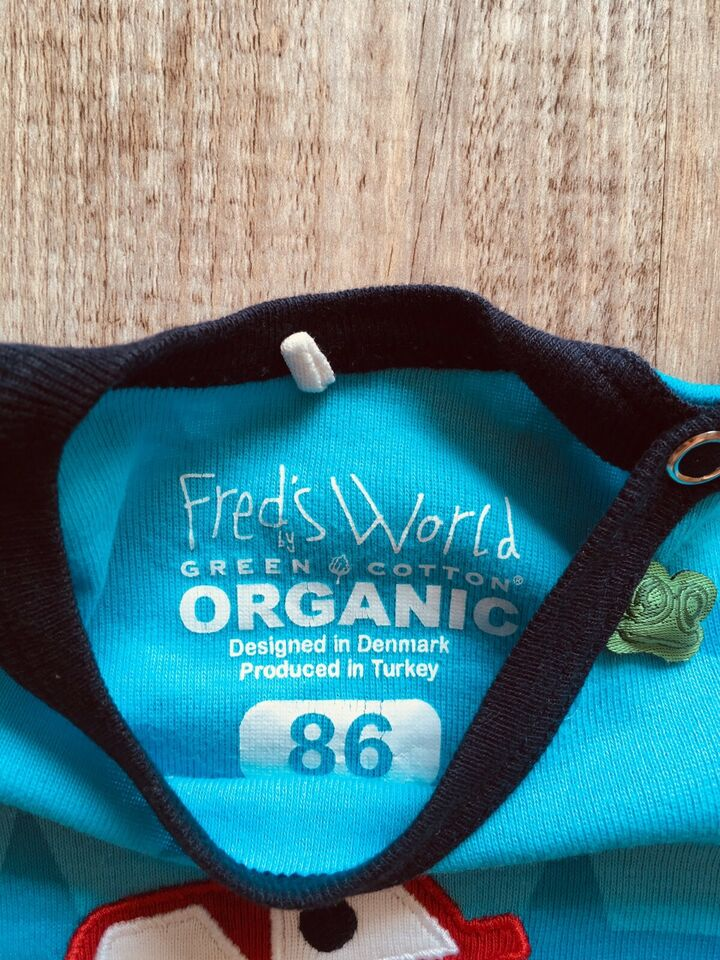 Freds World Green Cotton T-Shirt 86 Shirt Sterne Auto wie Neu bio in Berlin