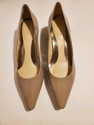 Women's Calvin Klein Patent  Leather Diema Heels Size 8.5M