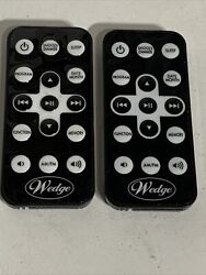 REMOTE CONTROL for Wedge A4116 AM/FM CD Player Clock Radio