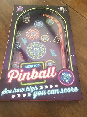 The Works Desktop Pinball Toy
