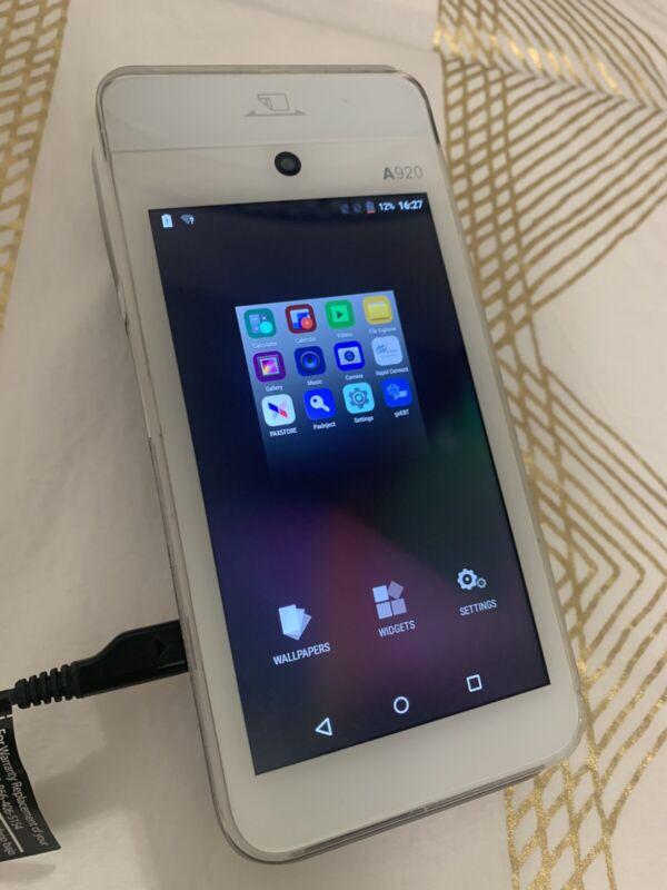 PAX A920 Handheld Android Sales Terminal Portable Thermal Print 4GB Credit Card