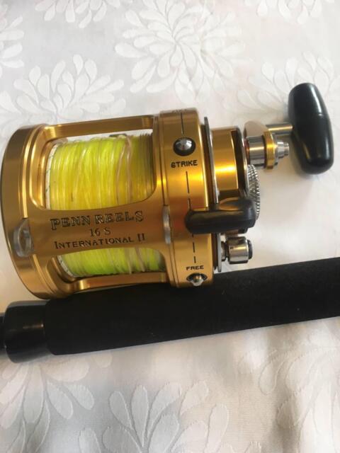 PENN International II 16S 2speed Reel 6-8kg game rod | Fishing