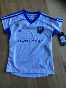 Montreal impact soccer jersey