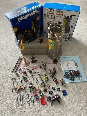 Playmobil 3888 Vintage Castle set, knights boxed with instructions And Extras