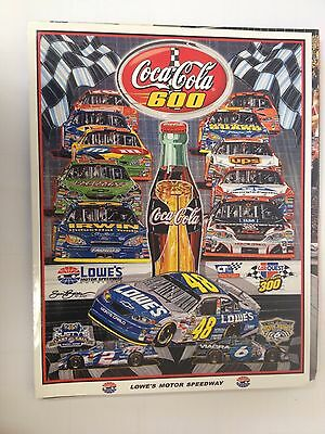 Coca-Cola 600 at Lowe's Speedway Program NASCAR Racing 2005