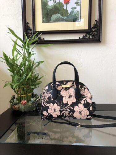 Kate Spade Mini Reiley Laurel Way Gardenia Black Multi Bag N