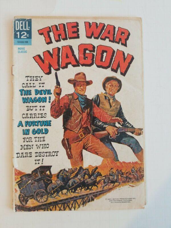 The War Wagon Dell Comics Western Comic TV 1967 John Wayne