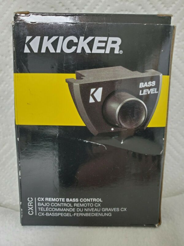 KICKER CX Remote Bass Control For Kicker CX Amplifiers 12CXRC