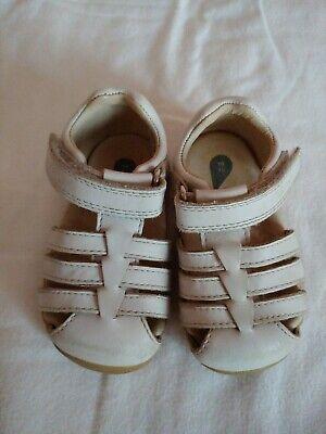 Bobux Baby/Toddler White Jump Sandals EU 19/US 3.5