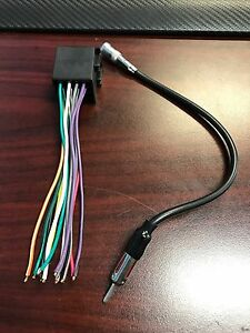 Volkswagen Stereo Wire Harness and Antenna Adapter