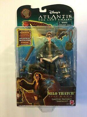 Mattel Disneys Atlantis The Lost Empire Milo Thatch Sparking Backpack-sealed