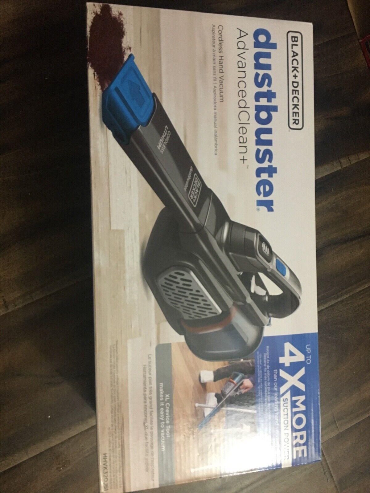BLACK+DECKER HHVK320J61 Dustbuster AdvancedClean+ Hand Vacuu