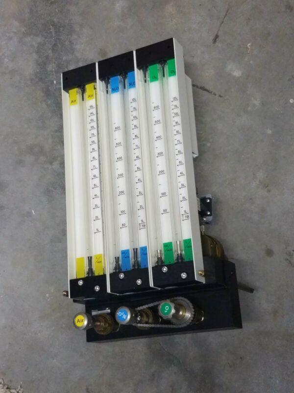 Ohmeda Anesthesia Machine Flow Meters Flowmeter ABPX00805 Madison WI