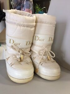 Authentic Dior moon boots