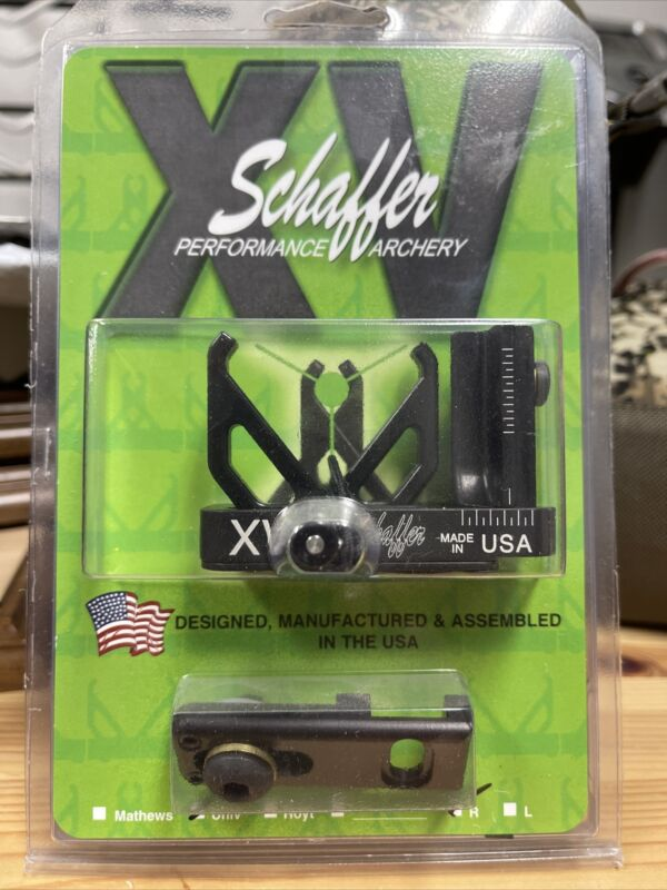 Schaffer Archery XV Rest RH UNIVERSAL