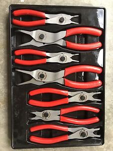 Snap-on  REVERSIBLE snap ring pliers set