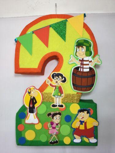 number 2 chavo del 8 pinata, chavo del 8 birthday party, chavo del 8 piñata