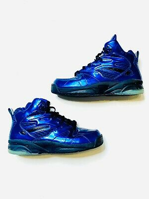 L.A. Gear Tech Light Basketball Light Up Shoe Metallic LATH92-4 Men Sz 10