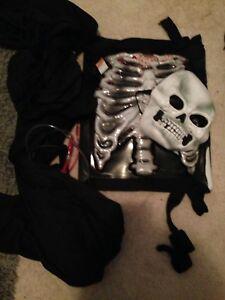 Boys bleeding skeleton Halloween costume