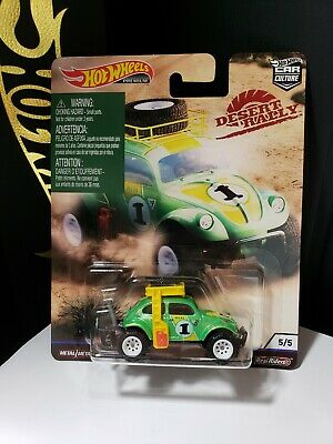 2019 HOT WHEELS PREMIUM DESERT RALLY VOLKSWAGEN BAJA BUG - D2