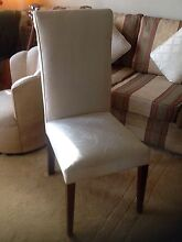 High Back CreamDining Chairs Drummoyne Canada Bay Area Preview