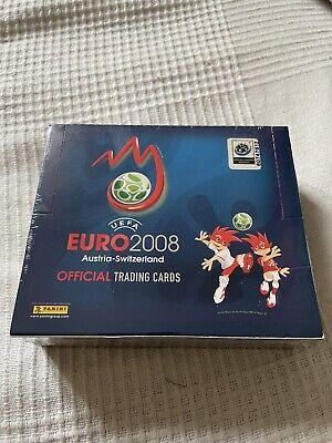 Factory Sealed 2008 Euro Panini card Box Ronaldo RC Rookie