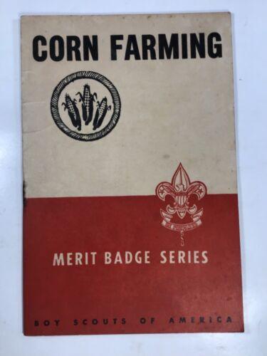 Vintage 1930 Boy Scouts Corn Farming Book
