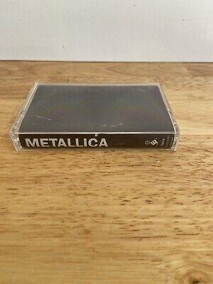 Metallica - The Black Album Cassette Tape 1991 Elektra Warner