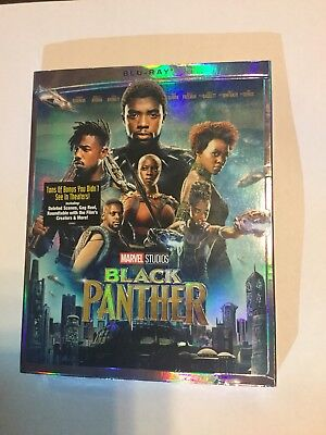 Black Panther  2018  Blu Ray Sealed Marvel Studios With Disney Rewards