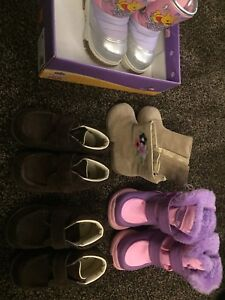 Winter shoes & boots (toddler boys & girls)