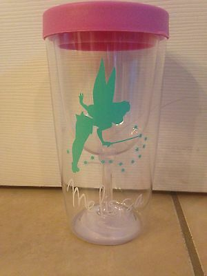 Disney Tinkerbell Inspired Personalized wine to go Tumbler Fish Extender Gifts](Disney Personalized Gifts)