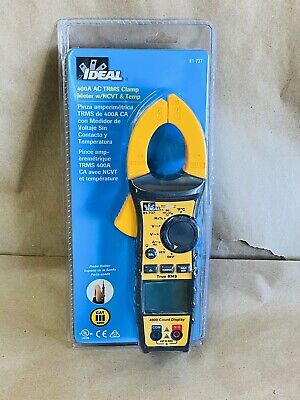 Brand New Sealed Ideal Digital Clamp Meter 61-737- Fast Shipping