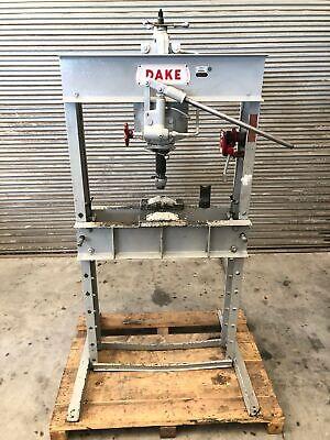Dake 50 H 50 Ton H Frame Hydraulic Press Usa Gmt-2167