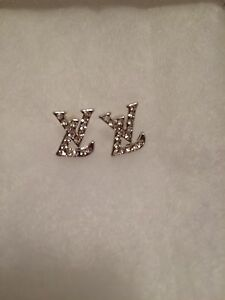 Dior or LV or CC inspired earrings studs London Ontario image 2
