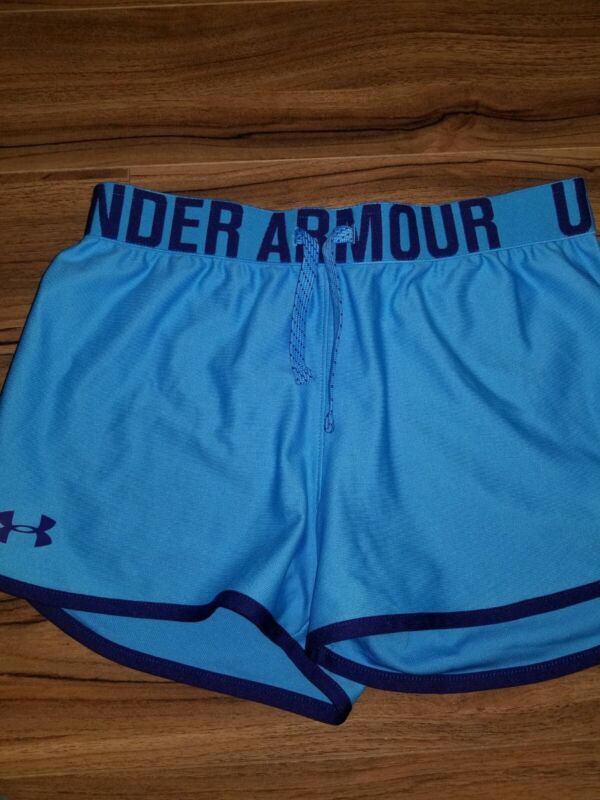 Under Armour Girls Athletic Running Shorts Size YL Youth Large
