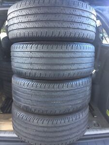 4-235/55R17 Continental all season