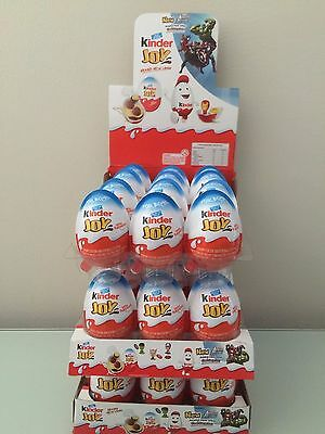 New Kinder Joy With Surprise Eggs In Toy   Chocolate For Boys   6 X Eggs