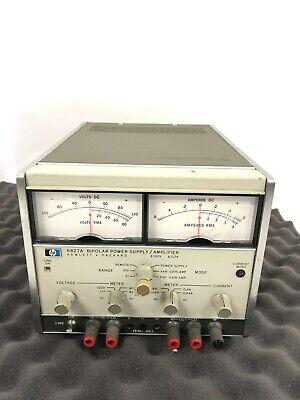 Hp 6827a Bipolar Power Supply  Amplifier Hewlett Packard