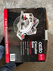 Ozito Circular Saw Waverton North Sydney Area Preview