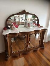 Antique Victorian mahogany Credenza Valentine Lake Macquarie Area Preview