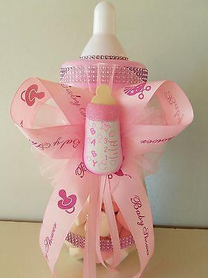 Baby Bottle Piggy Bank (Baby Shower Centerpiece Fillable Bottle Big Large 14