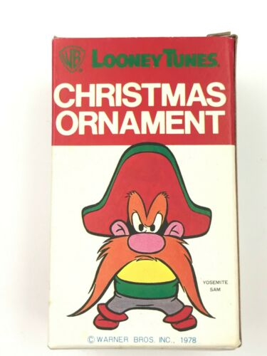 WARNER BROTHERS 1978 YOSEMITE SAM CHRISTMAS TREE ORNAMENT