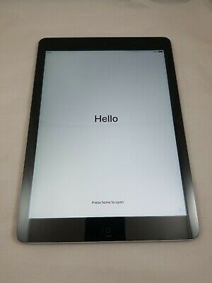 Apple iPad Air 1st Generation 16GB A1474, WiFi, 9.7in Space Gray Grade A - LOOK!