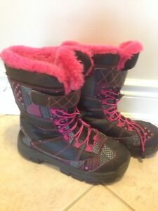Youth Girl's Winter Boots Size 7
