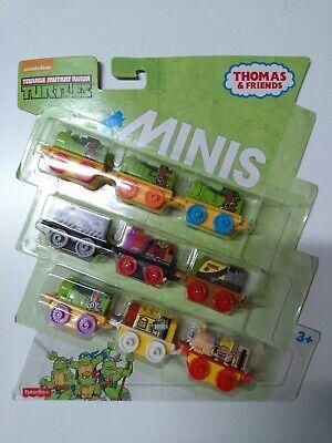 Thomas & Friends Teenage Ninja Turtles Minis Train 9 Pack
