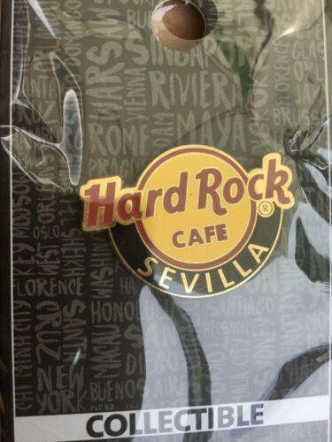 HARD ROCK CAFE PIN CLASSIC LOGO SEVILLA