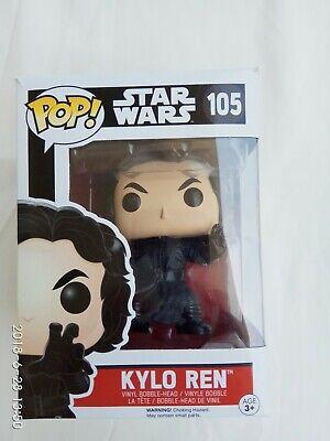 Funko Pop! Star Wars: The Force Awakens - Kylo Ren Vinyl Figure #105 New
